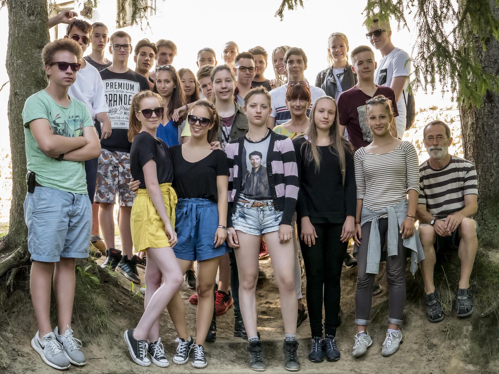 Az osztálykirándulás képei – Jásd, 2017